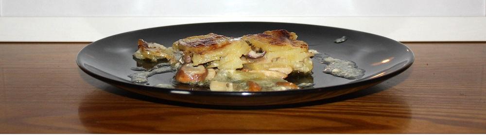 teglia porcini e patate