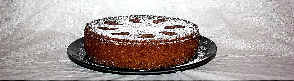 Torta di mandarini veloce con succo e bucce