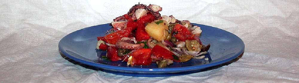Insalata Eoliana di polpo e patate