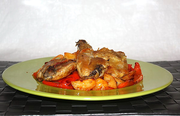 Pollo rosolato in padella