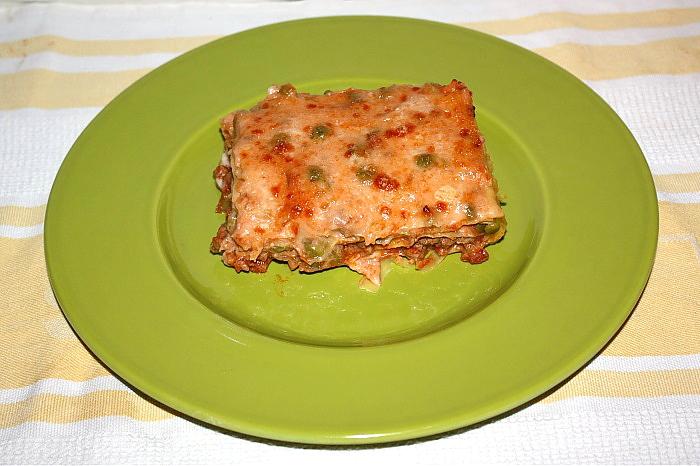 Teglia di lasagne