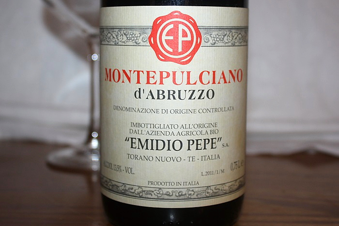 Montepulciano d'Abruzzo Doc 2011 –  E. Pepe