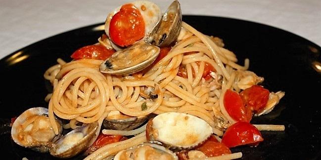 Variazione dello spaghetto alle vongole