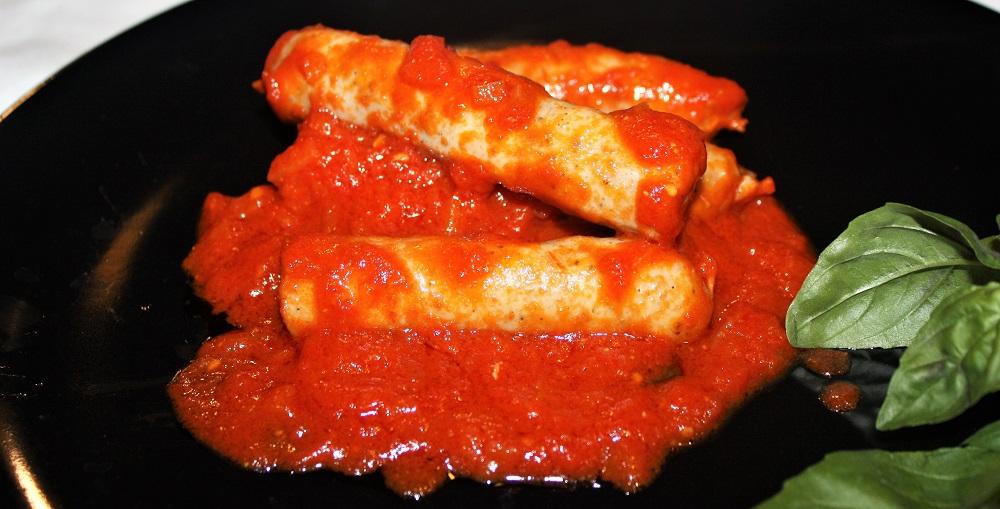 Salsiccia sottile con cottura CBT