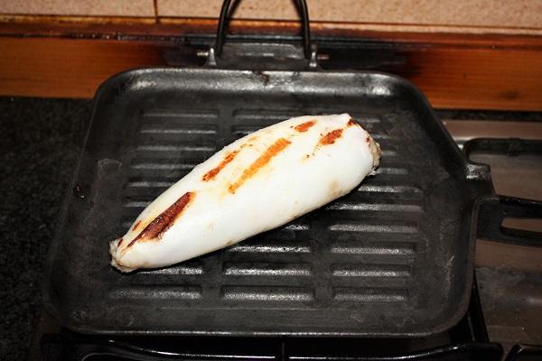 calamari ripieni con cottura cbt