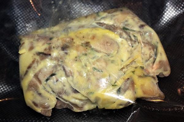 Petto di pollo e porcini cotto cbt