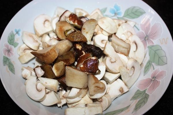 porcini e champignon