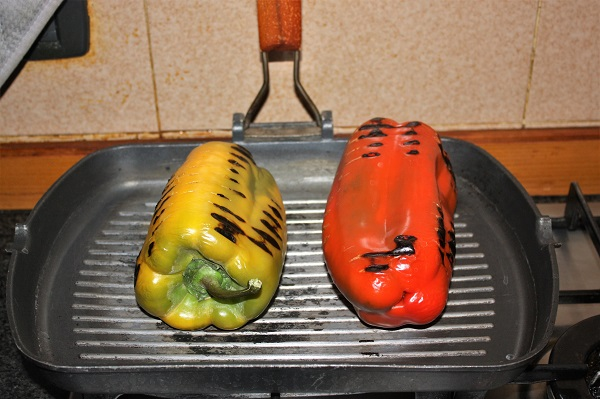involtini di peperoni al forno