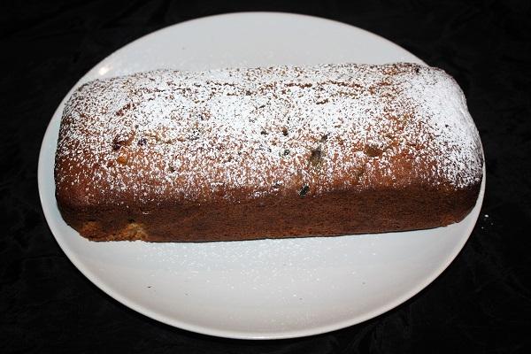 plum cake uvetta rum e canditi