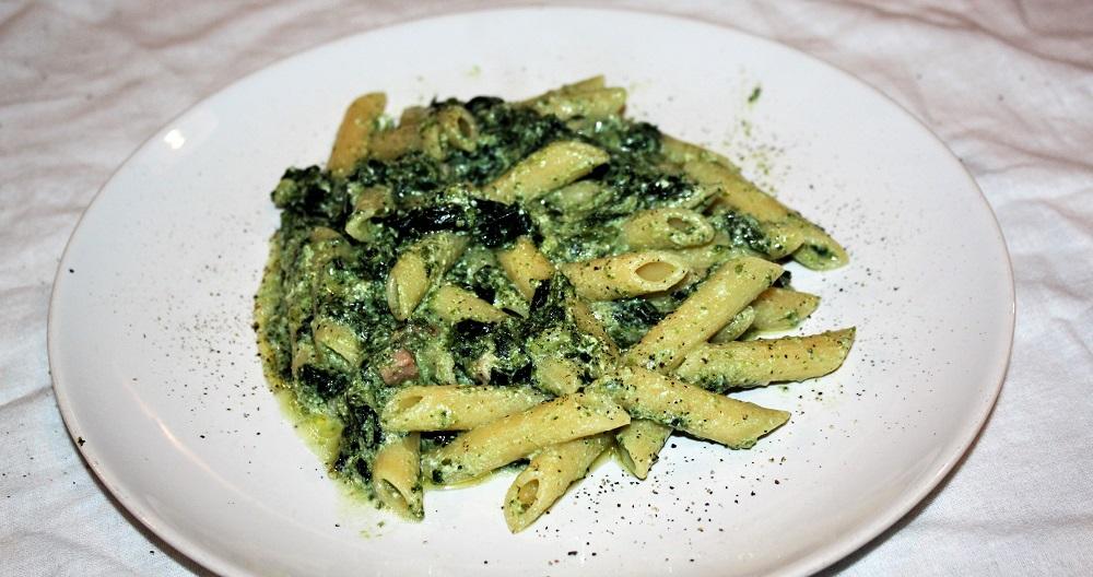 Penne broccoli e ricotta