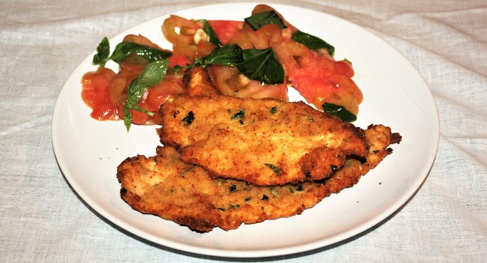 Cotolette di pollo alla catanese