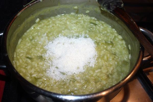 risotto di asparagi
