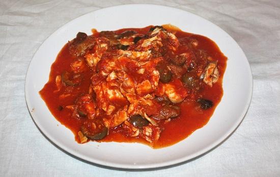 gallinella in umido aromatico