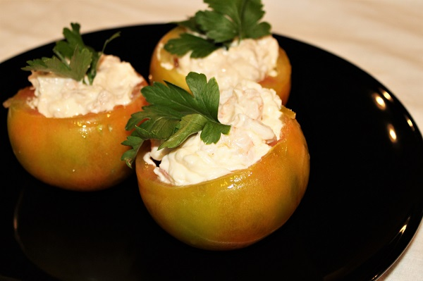 Pomodori freddi farciti
