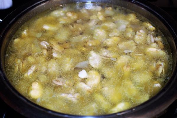 purea di fave e cicoria