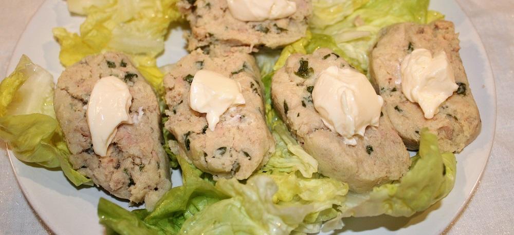 Salame di tonno e patate