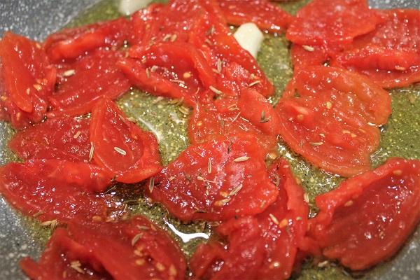 Spaghetti con Piccadilly e salmone affumicato
