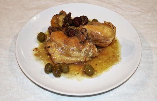 pollo alle tre olive